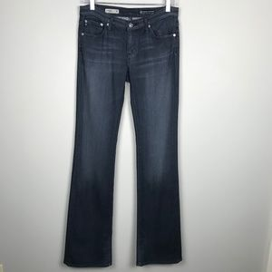 Adriano Goldshmied AG Angel Bootcut Gray Jeans 27
